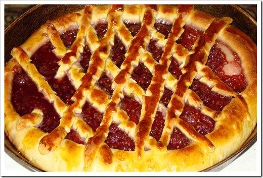 рецепт сладкого пирога дрожжевого теста фото